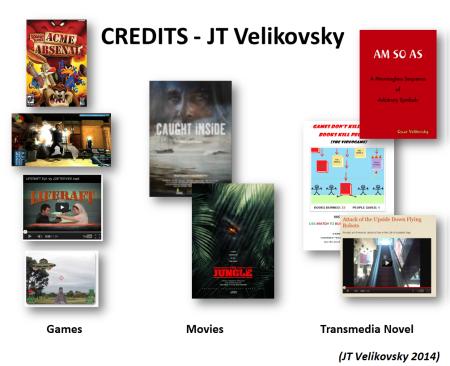 JT Velikovsky (some past credits)